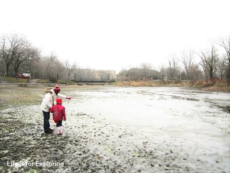 L.I.F.E Canada frozen lake